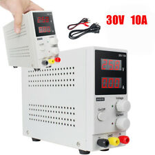 30v 10a Mini Digital Adjustable Dc Power Supply Precision Variable With Cable 110v