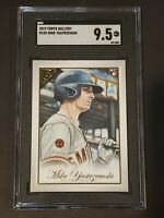 2019 Topps Gallery #102 SGC 9.5 Mike Yastrzemski RC Rookie