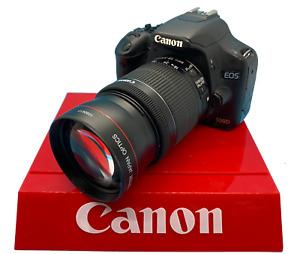 2.2x Telephoto Zoom Lens for Canon Rebel EOS T3 XT XTI XS XSI T6 300D 400D T3I