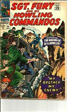 Sgt Fury and His Howling Commandos #36  ( 1966 Marvel ) Making of a Howler.