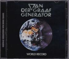 Van Der Graaf Generator - World Record - CD (EMI CASCDR1120 Remaster + Bonus)