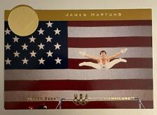 New listing JAMES HARTUNG 1996 96 UD Upper Deck Olympic Card Gymnastics Magical Images