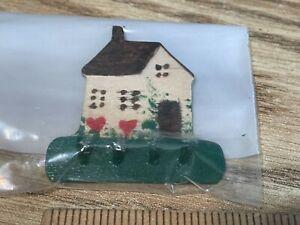 dollhouse miniatures - little house coat hook 1:12