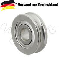 Kugellager U Nut Rillenkugellager 4x12x4 mm Rostfreier Stahl L0201