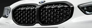 Original BMW Ziergitter 1er Reihe F40 schwarz grille black kidney 51138080490