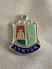 LYNTON Silver Travel Shield Enamel Charm