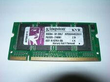 Barrette mémoire Kingston 512 MO SO-DIMM DDR PC2700
