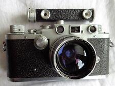 LEICA IIIC, LEITZ/WETZLAR avec LEITZ summitar, 1:2, f = 50 mm, 1946