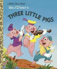 The Three Little Pigs (Disney Classic) (Little Golden Book)