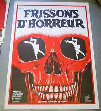 Affiche de cinéma : FRISSONS D'HORREUR d'Armando CRISPINO
