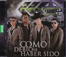 Grupo Maximo Grado Como debio de Haber Sido CD New Nuevo Sealed