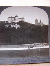 Stereoscope Photograph   Cathedral At Upsala   Sweden
