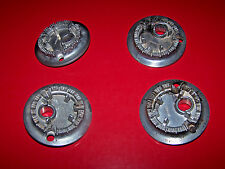 WHIRLPOOL RANGE / OVEN : Set of 4 BURNERS - Top - OEM Part # W10851301 - VGUC!