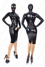 242 Latex Rubber Gummi Dress cup skirts one-piece masks fitted customized 0.7mm