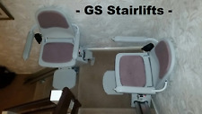 Acorn slimline stairlifts x2 for split staircase-fitted + 12 month warranty'