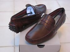 e45459616 Lacoste Concours 14 Mens Casual Moccasins Leather Loafer Shoes Us9-us11  Burgundy 9