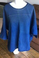 Diesel F Pegaso Sweat Shirt Blue Womens Small
