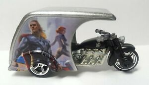 Hot Wheels Avengers 3-D Livery Marvel Concept Art 1:64 Real Riders M/M Loose