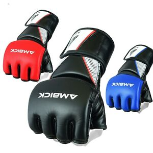 Gel Tech Grappling MMA Boxing Gloves Punching Training Sparring Fighting Wraps