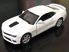 "Kinsmart 5"" 2014 Chevy Chevrolet Camaro Diecast Model Toy Car 1:38 White"