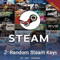 2 Premium Gold Random Steam Keys PC + BONUS Fast Delivery🔥🔥🔥