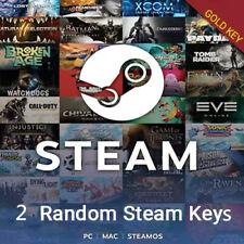 2 Premium Gold Random Steam Keys PC + BONUS (Global ~ Region Free)