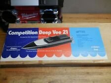 Dumas Competition Deep Vee 21 Rc Boat Kit Made in Az Usa! New Old Stock Nos