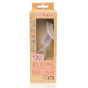 Jack N Jill Silicone Tooth & Gum Brush - Stage 3