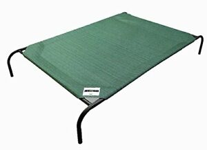 Pet Bed with Knitted Fabric XXL Extra Large Raised Cooling Back Great Dane Dog
