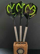 22 gram 90% Tungsten darts - Michael Van Gerwen style and set up