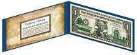 VIRGINIA State $1 Bill *Genuine Legal Tender* U.S. One-Dollar Currency *Green*