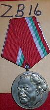 ZB16 Bulgaria Medal for 100 year Anniversary George Dmitrov's birth, 1882-1982