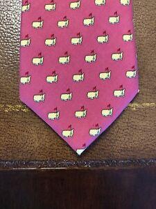 MASTERS VINEYARD VINES Printed Silk Neck Tie - Pink/Coral