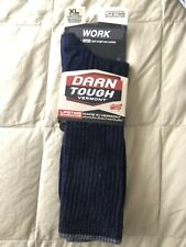 Darn Tough Men's Mid-Calf Light Cushion Navy Work Socks 1480 SZ XL