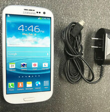 Samsung Galaxy S3 SGH-T999-16GB-Marble White(T-Mobile unlocked) 30 days warranty