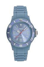 NEO watch NICE-1 Damen Herren Uhr Armbanduhr Pigeon Blue Silikonarmband N1-012