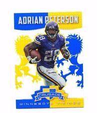 Adrian Peterson 2014 Panini Rookies & Stars, Crusade, Blue, Football Card !!
