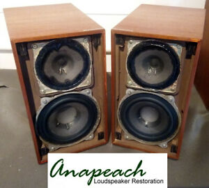 Videoton Minimax II Loudspeakers - Fully rebuilt and ready to be enjoyed again