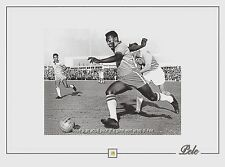 PELE soccer football legend game WORN JERSEY piece Brazil relic swatch owned