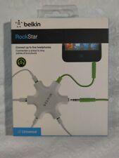 Belkin RockStar 5-Jack 3.5 mm Audio Headphone Splitter