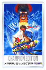 STREET FIGHTER 2 CHAMPION EDITION ARCADE FRIDGE MAGNET IMAN NEVERA
