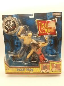 """WWE - WWF - FINAL COUNT SERIES 2 - FIST DROP - """"KANE VS STONE COLD"""" 2-PACK SET"""