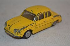 Lion Car Renault Dauphine Yellow in good original condition made in Holland