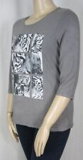 Millers Animal Print 3/4 Sleeve Machine Washable Tops & Blouses for Women