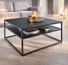 Couchtisch Zara Schwarz Tisch Ablage Teetisch Couchtisch Kaffeetisch 80x80