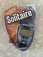 Radica FlipTop Solitaire Klondike Vegas Electronic Handheld Game 2003 Lighted