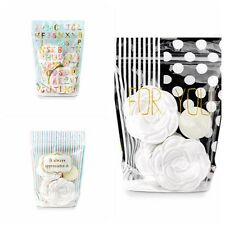 10-50X Self Seal Nuts Biscuit Cookie Sweet Party Wedding Favour Gift Gusset Bags