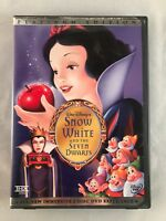 Platinum Edition Walt Disney's Snow White & the Seven Dwarfs 2 DVD Special B3