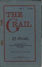 """FEMINISM - DOSSHOUSES - T.GWYNN JONES - WELSH CALVINISTS - """"THE GRAIL"""" (1913)"""