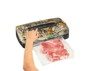WESTON Realtree® 65-3001-RE Vacuum Sealer with Storage and Roll Cutter